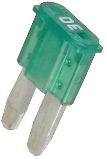Micro2 Blade Fuse 30 Amp 5 Pack