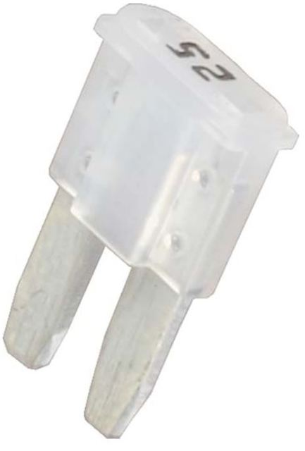 Micro2 Blade Fuse 25 Amp 5 Pack